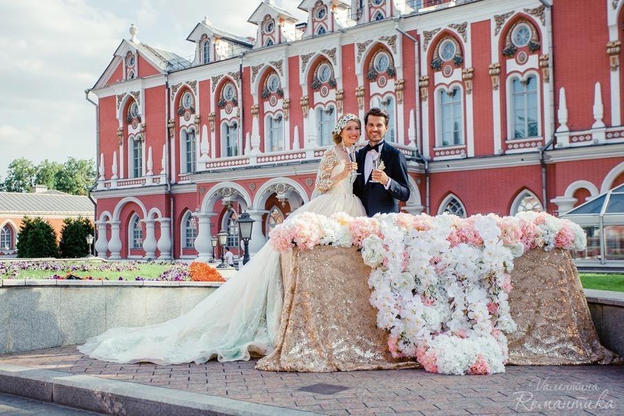 Фотосессия свадебная дворцы москвы